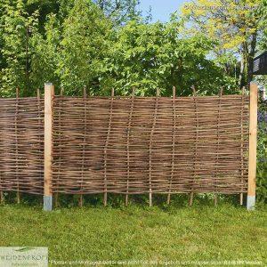 Gartenzaun Haselnuss BALDO Stabil, ohne Rahmen