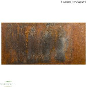 CAMBO Corten-Stahl, Edelrost Platte