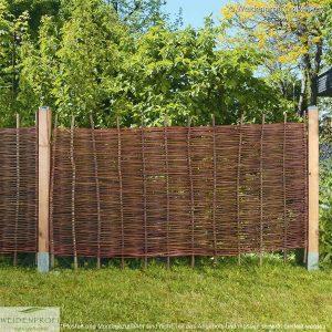Gartenzaun Weide BALDO Natur, ohne Rahmen